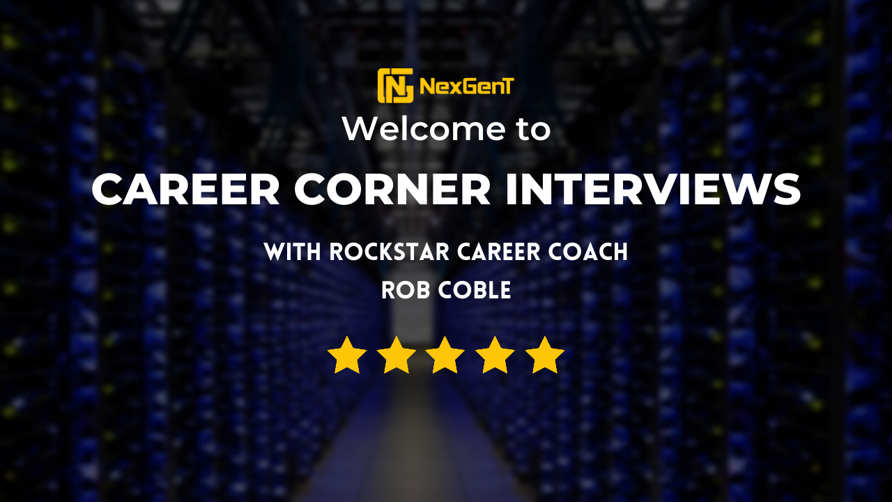 Career corner interviews with Rob Coble
